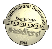 registriert beim Veterinäramt Dortmund