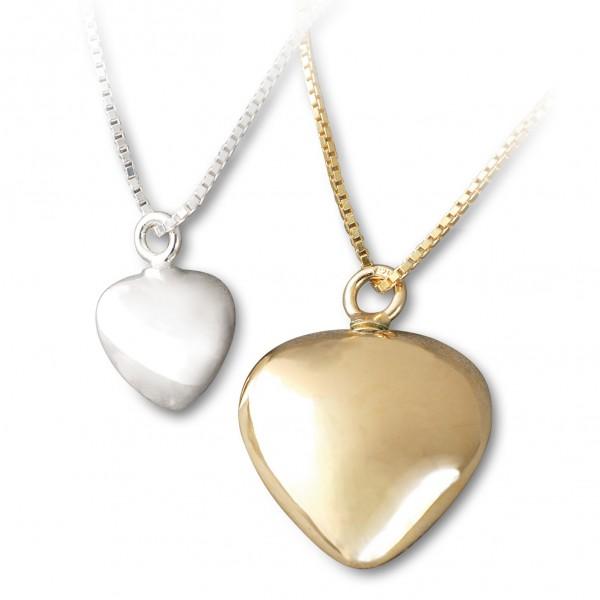 Herz Amulett - Gedenkurne