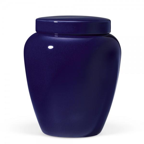 Safaa Keramikurne   blau