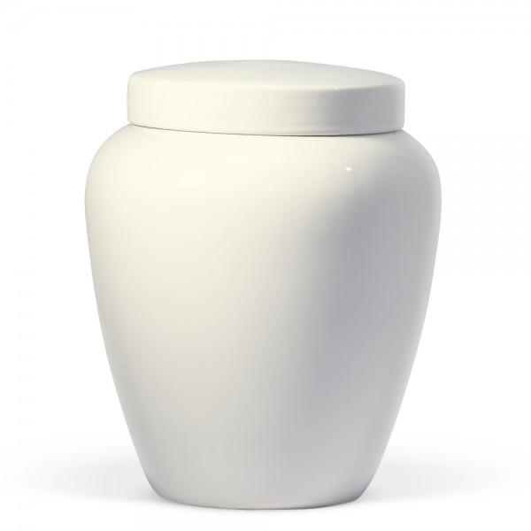 Safaa Keramikurne | weiß