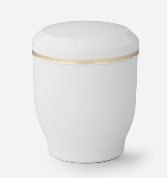 Miniurne Oury   weiß 0,3l